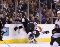 Dustin Brown Delivers