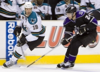 Joe Thornton And Alexander Frolov