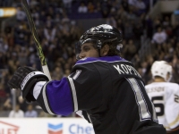 Kopitar Celebrates A Kings Goal