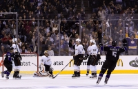 Kings (and Their Fans) Celebrate by Rink Dawg