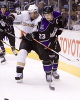 Dustin Brown Is Hooked