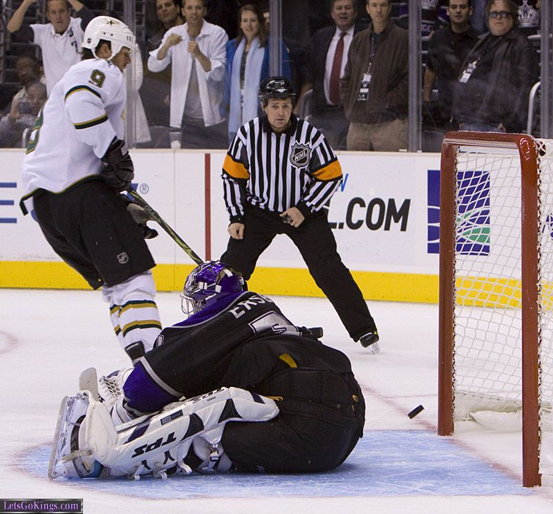 Mike Modano Stopped, Kings Win!