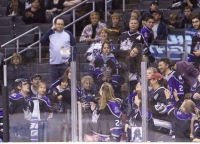 Kopitar Always Tosses A Puck To The Fans