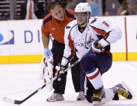 Ovechkin In Pain
