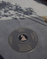 Grammy's Sidewalk Plaques At La Live