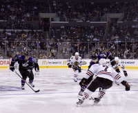 Brown And Kopitar On The Rush