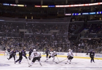 Kings Swarm Into Offensive Zone