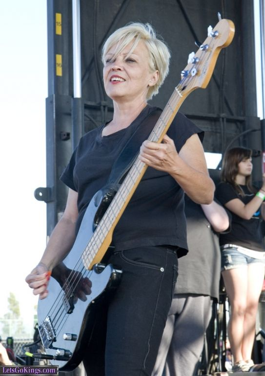 Lorna Doom of The Germs At Warped Tour 2008