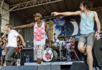 3oh!3 At Warped Tour 2008