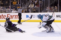 Dustin Brown Draws A Penalty