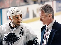 Ian Laperriere and Larry Robinson