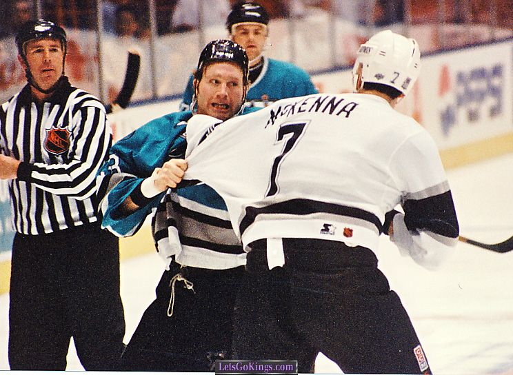 Marty McSorley vs Steve McKenna