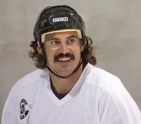 George Parros new 'stache