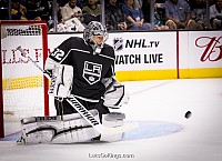 Jonathan Quick by rinkrat