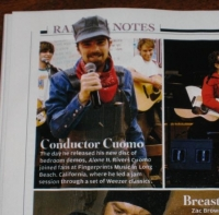 My Photo Of Rivers Cuomo In Rolling Stone - Feb. 2009