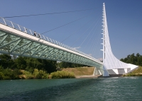 Sundial Bridge in Redding