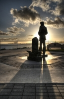 The Lone Sailor Memorial, Long Beach California by rinkrat