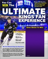 My Photo As The Background For A Kings Ad