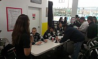 Palos Verde Rink Tour Players Signing 1