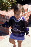Our family's littlest Kings fan!