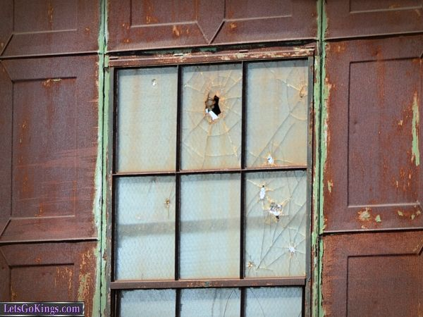 Broken Windows On The Old Power Station, Maui