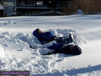 My snow angels