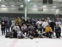 LGK Ice Game Group Photo 8-21-07