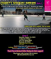 Burbank Charity Hockey Game