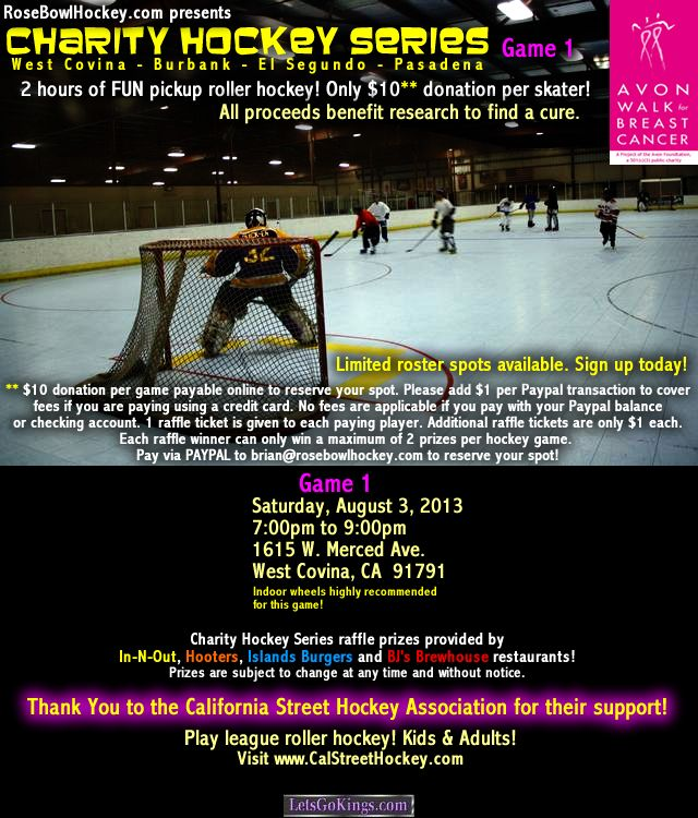 West Covina Charity Hockey Game