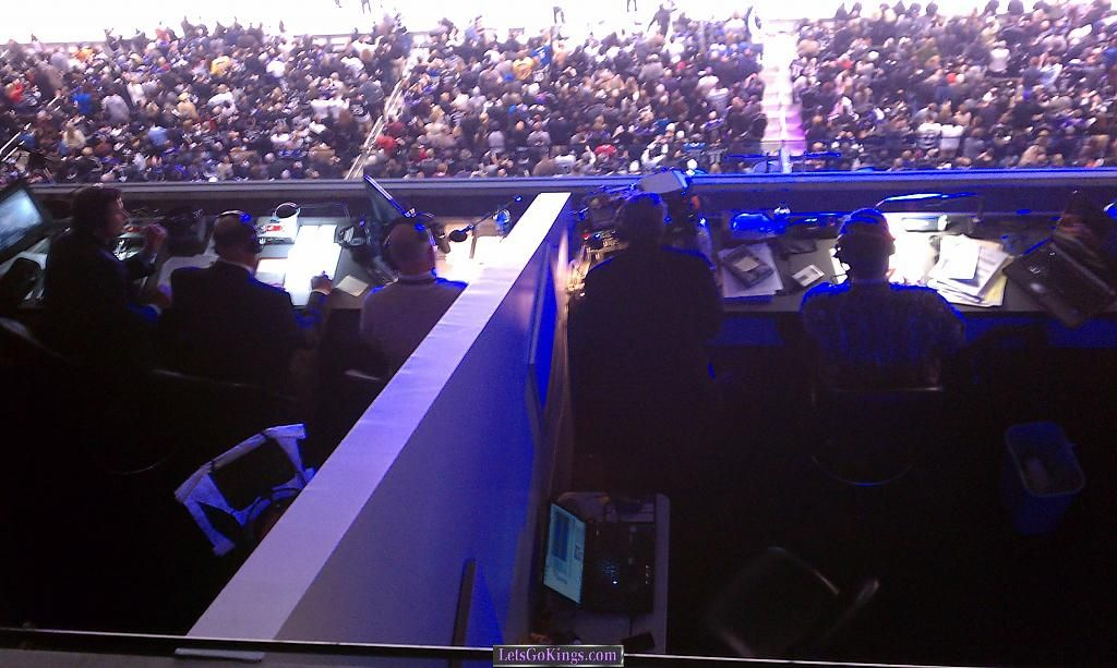 Broadcast Booths Section 318