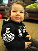 Stanley Cup Finals patch baby hoodie