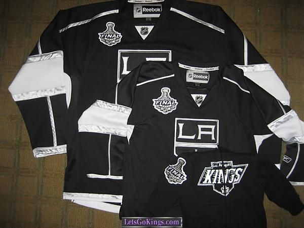 Stanley Cup Finals patch jerseys